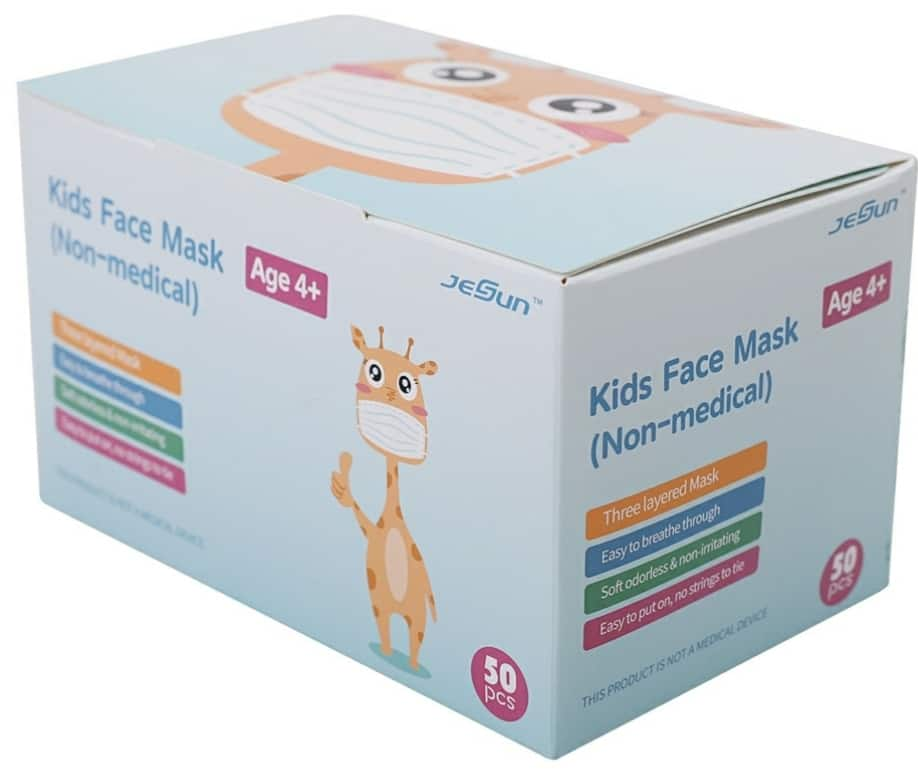[Sam's Club] Kids' Non-Medical Disposable Face Masks (50 ct.) $6.98