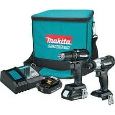 Makita CX200RB-R Reconditioned 18V LXT Sub-Compact Brushless 2-Piece Combo Kit (2.0 Ah) $139.99