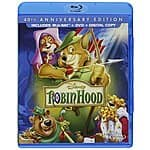 Robin Hood: 40th Anniversary Edition (Blu-ray + DVD + Digital Copy) $13.07 Shipped on amazon