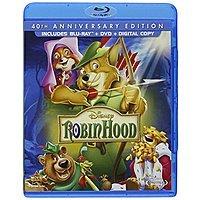 Robin Hood: 40th Anniversary Edition (Blu-ray + DVD + Digital Copy) $  13.07 Shipped on amazon