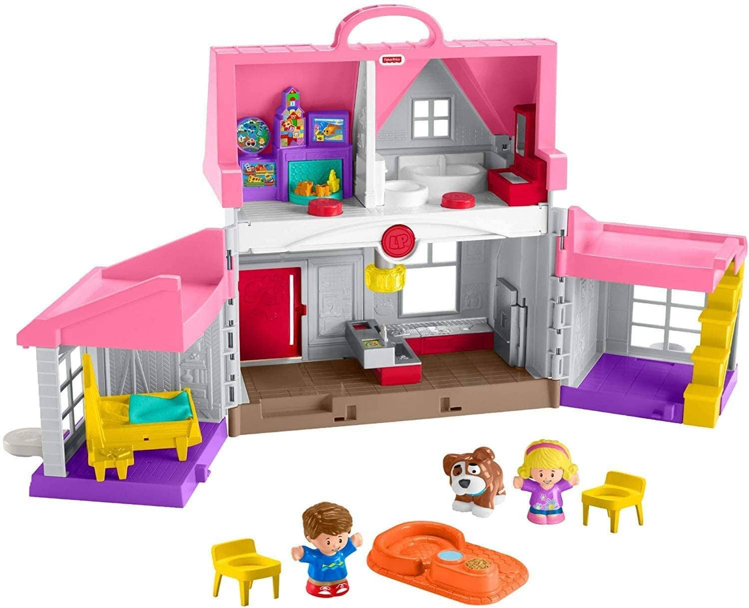 Fisher-Price Little People Big Helpers Home (Pink) $20 + 2.5% Slickdeals Cashback (PC Req'd) + Free Store Pickup at Target