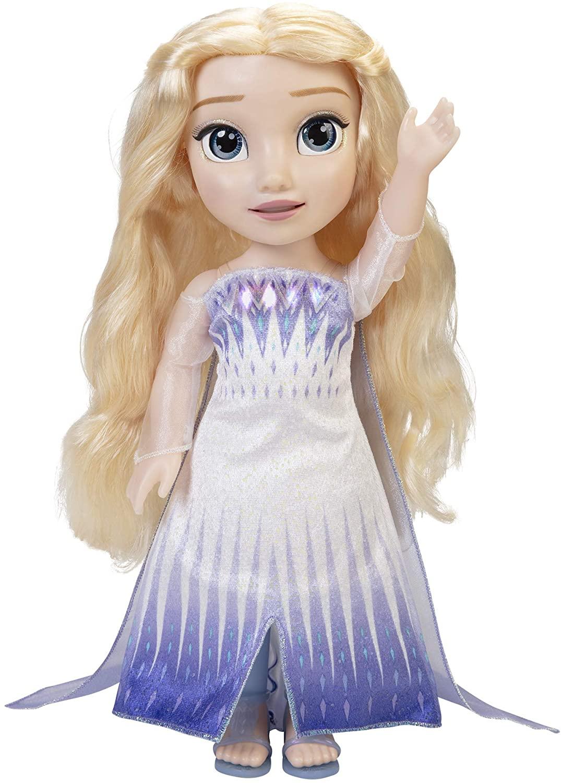 Disney Frozen 2 Magic in Motion Singing Elsa Doll $30 + 2.5% Slickdeals Cashback + Free Store Pickup at Target