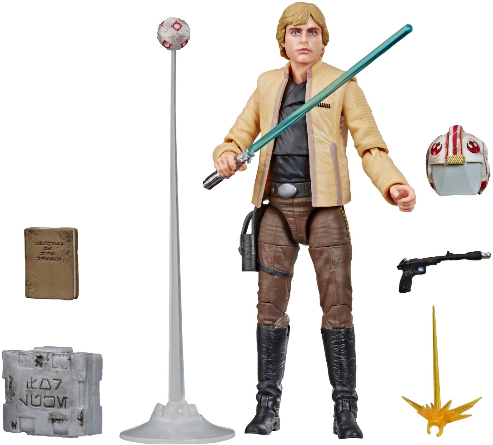 Star Wars Black Series Luke Skywalker Strikes Action Figure w/ Accessories $16 + Free Store Pickup at Best Buy