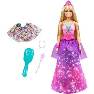 Barbie Dreamtopia 2-in-1 Princess to Mermaid Fashion Transformation Doll $8.95 + 2.5% Slickdeals Cashback (PC Req'd) + Free Store Pickup at Target