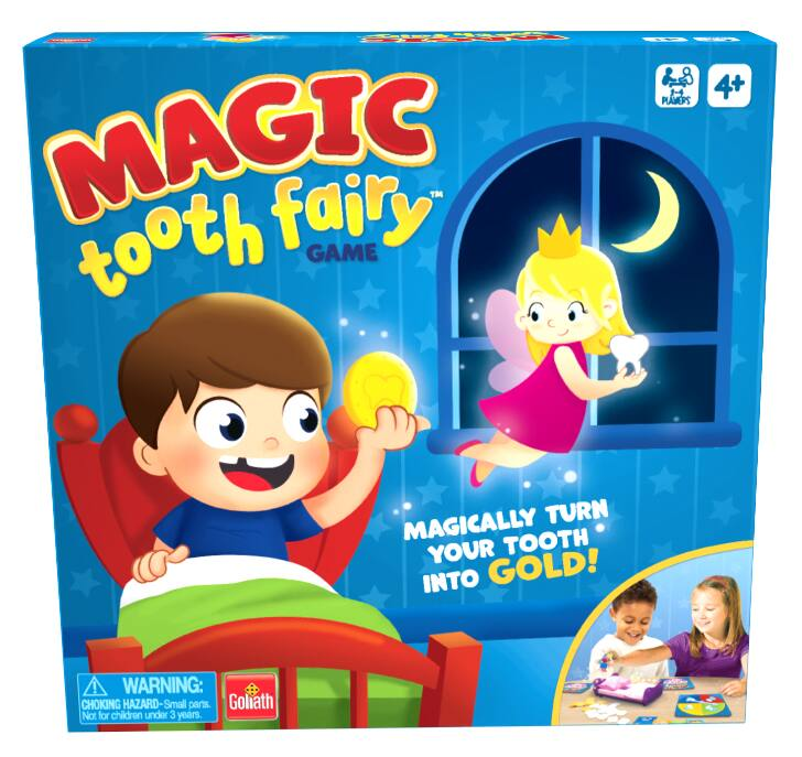 Goliath Games Magic Tooth Fairy Game $8 + Free Store Pickup at Walmart