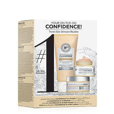 4-Pc IT Cosmetics Your On-The-Go Confidence! Skincare Value Set $15 + Free Shipping w/ Shoprunner