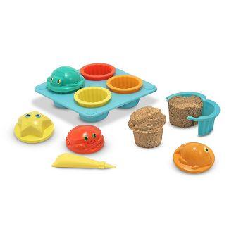 12-Pc Melissa & Doug Seaside Sidekicks Sand Cupcake Set $8.90 + Free Shipping w/ Amazon Prime or Orders $25+