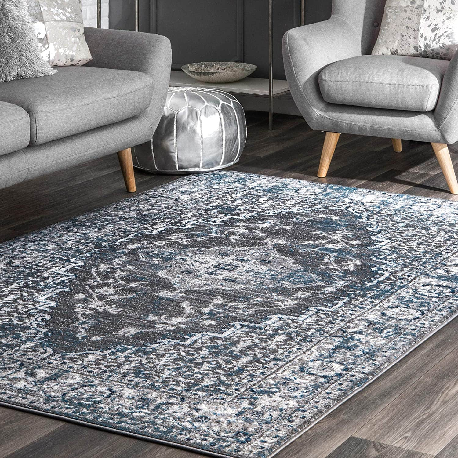 5' x 8' nuLOOM Lucille Medallion Area Rug $40.80 + Free Shipping