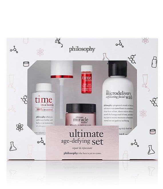 4-Pc Philosophy Ultimate Age-Defying Skincare Set $32.50 + 6% Slickdeals Cashback (PC Req'd) + Free Shipping
