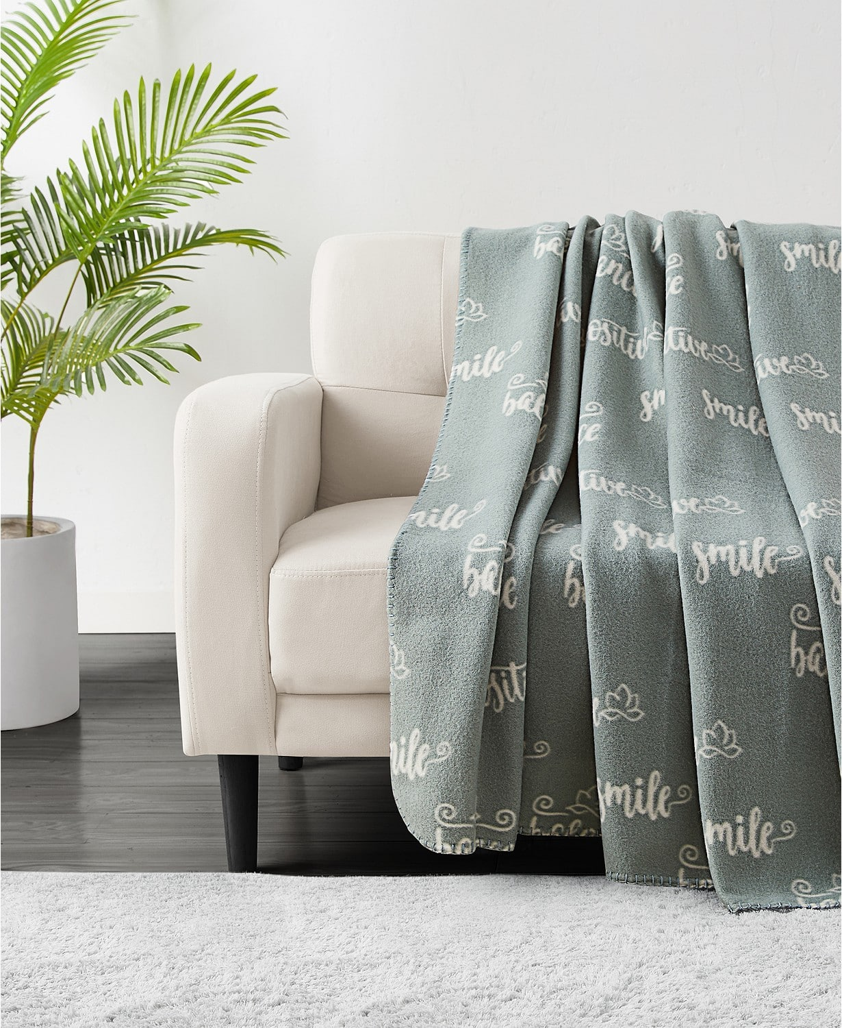 """50"""" x 60"""" Infinity Home Novelty Print Fleece Throw (various prints) $6 + 6% Slickdeals Cashback + Free Store Pickup at Macy's"""