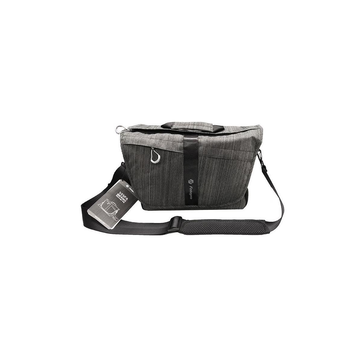 Fotopro Vespa Camera/Laptop Messenger Bag (Charcoal) $20 + Free Shipping