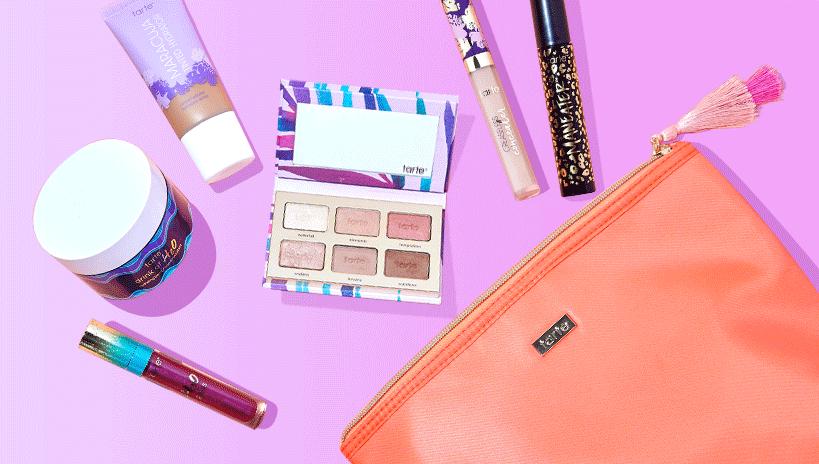 Tarte Cosmetics Custom Beauty Kit: 6 Full-Size Makeup/Skincare Items & Bag $63 + Free Shipping