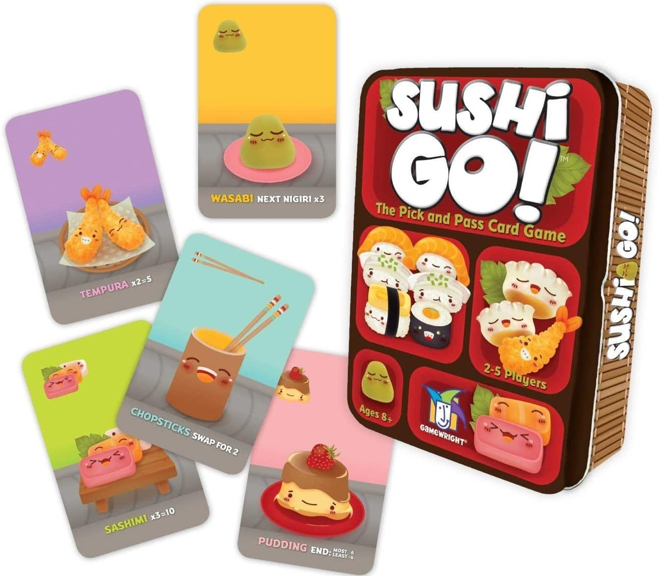 Sushi Go! - The Pick and Pass Card Game $6.75 + Free Shipping w/ Amazon Prime or Orders $25+