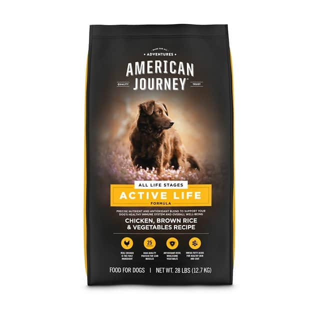 American Journey Dry Dog Food: 28-Lbs Active Life Formula (All Life Stages) $22.80 & More + Free Shipping $49+