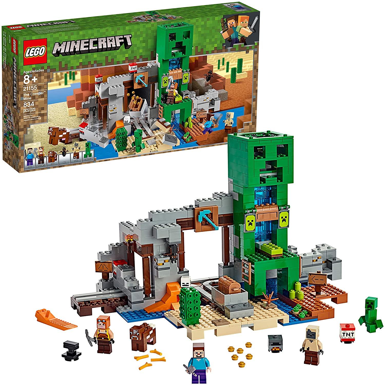 Amazon Prime Members: 834-Pc LEGO Minecraft The Creeper Mine Building Kit $53 + Free Shipping