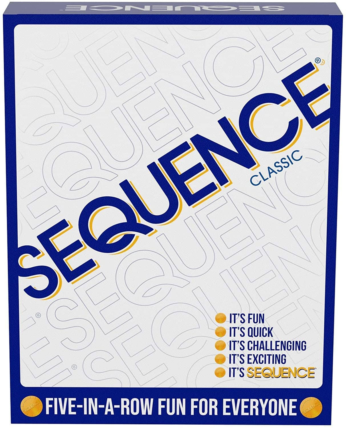 Sequence Strategy Board Game $8.40 + Free Shipping w/ Amazon Prime or Orders $25+