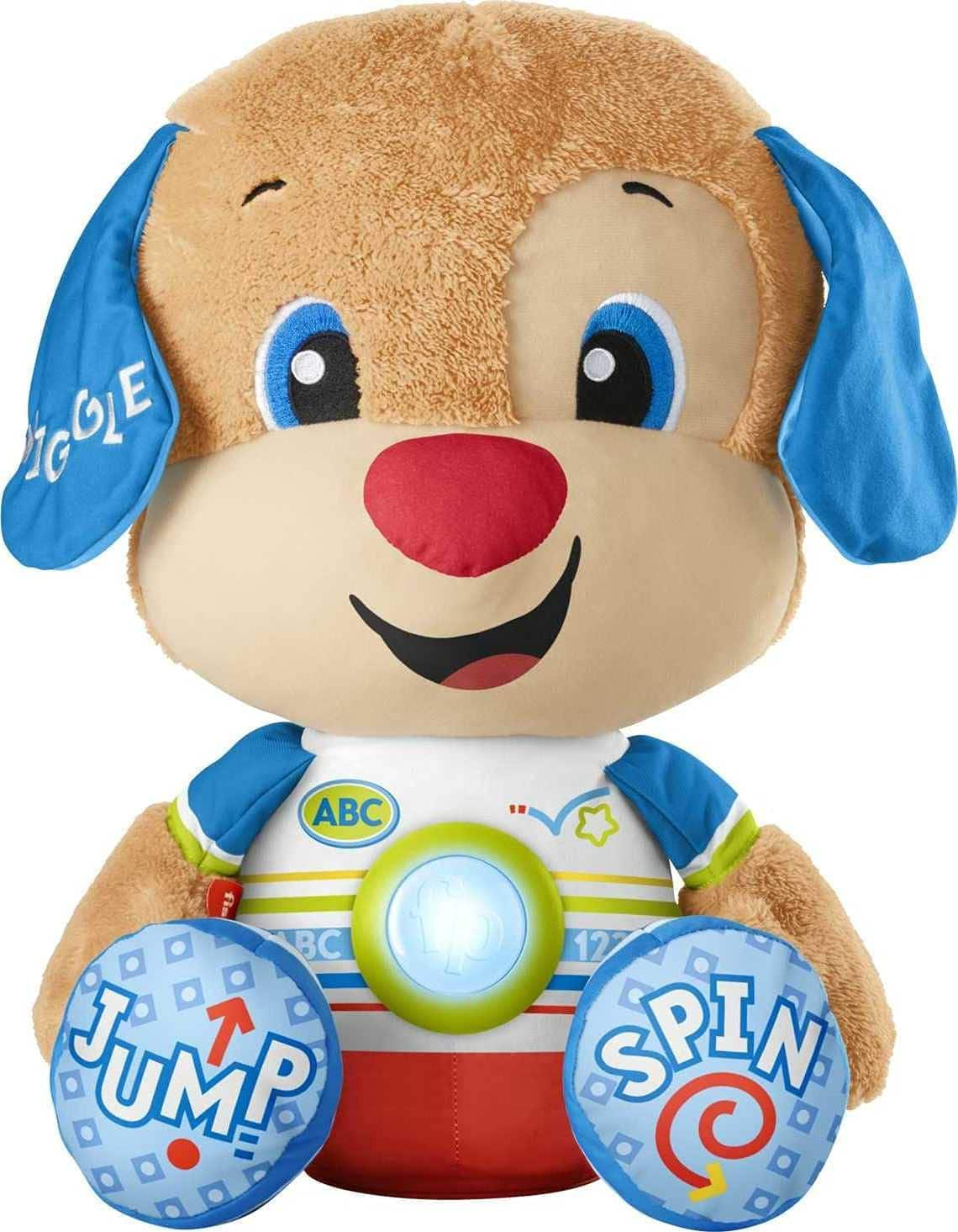 Fisher-Price Laugh & Learn So Big Puppy Interactive Musical Plush Toy $15.10 + Free Shipping w/ Amazon Prime or Orders $25+