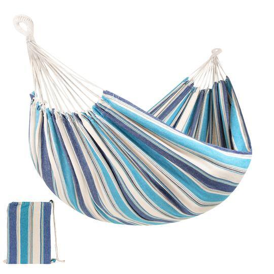 Best Choice Products 2-Person Brazilian-Style Double Hammock w/ Carrying Bag (various colors) $12 + Free Shipping