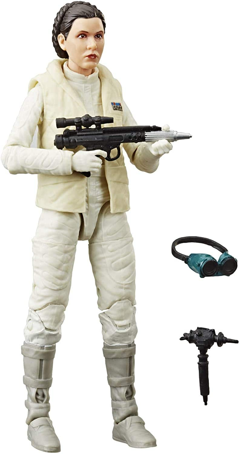 """6"""" Star Wars The Black Series Princess Leia The Empire Strikes Back 40th Anniversary Collectible Figure $12 + Free Shipping w/ Amazon Prime or Orders $25+"""