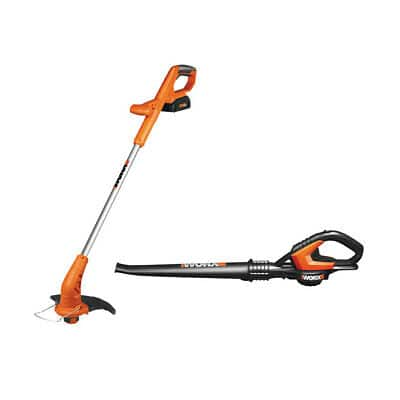 Worx 20V Lithium 2-in-1 Grass Trimmer & Blower Combo (Open Box) $48 + Free Shipping