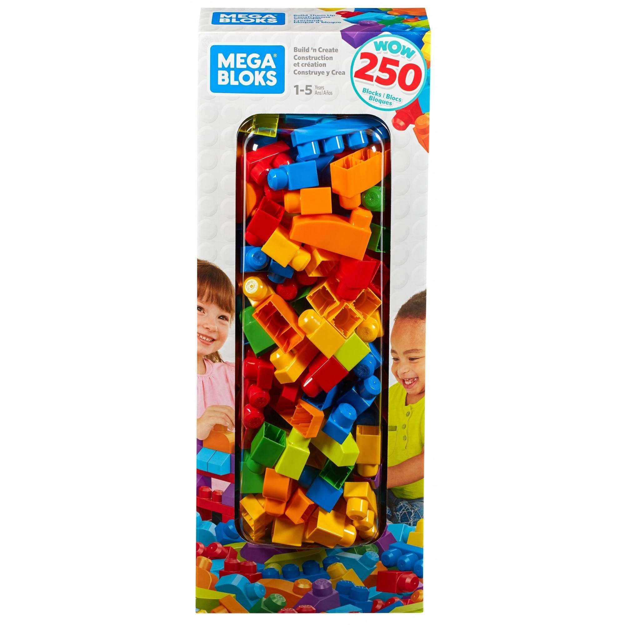 250-Piece Mega Bloks Big Builders Build 'N Create Block Set for Kids $20 + Free Store Pickup at Walmart