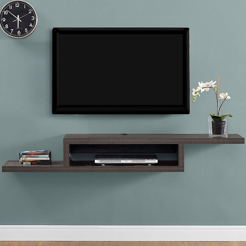 "60"" Martin Furniture Asymmetrical Floating Wall Mount $77.35 + Free Shipping w/ Prime"