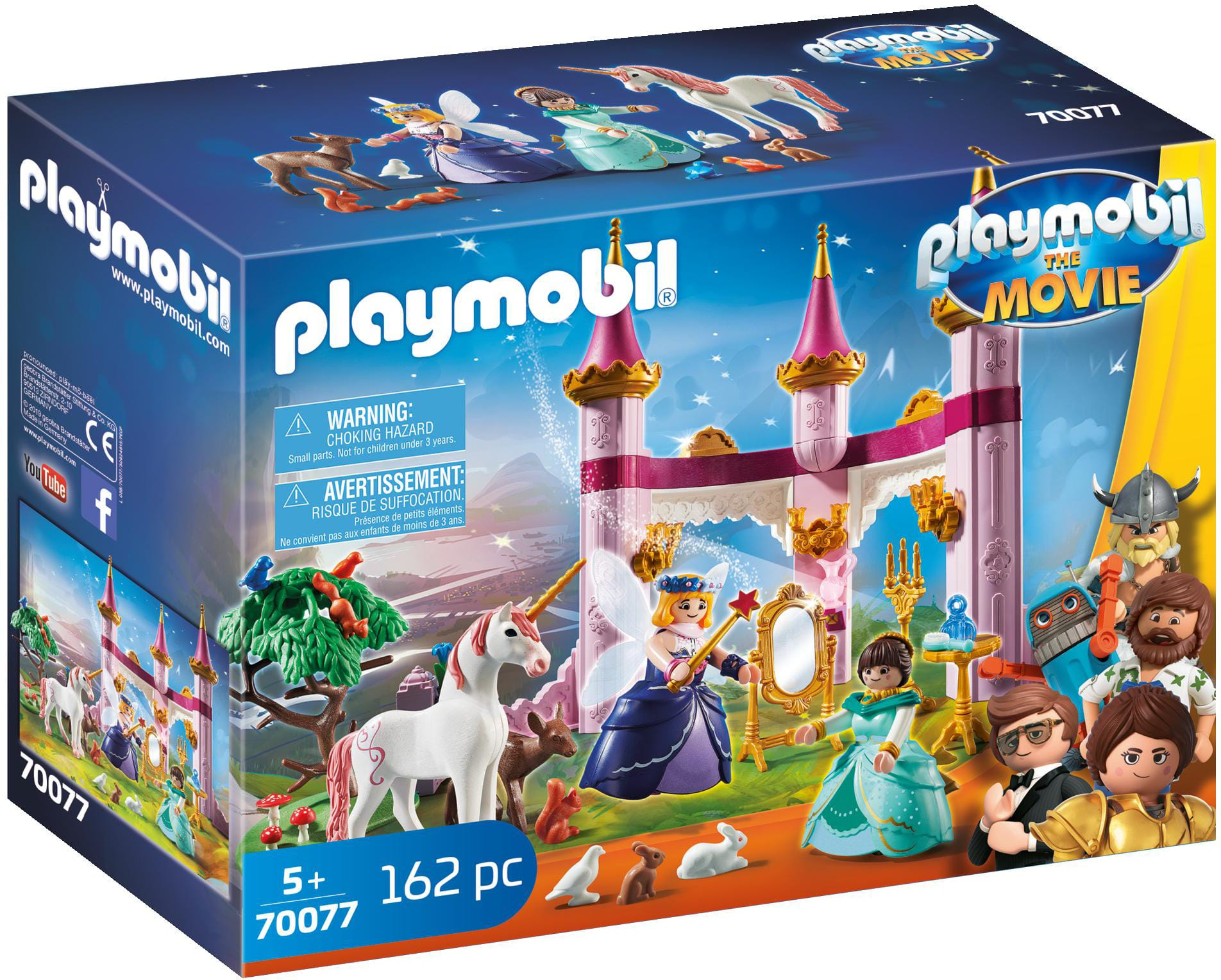 162-Pc PLAYMOBIL The Movie: Marla in The Fairytale Castle Set $15 + Free Shipping w/ Prime