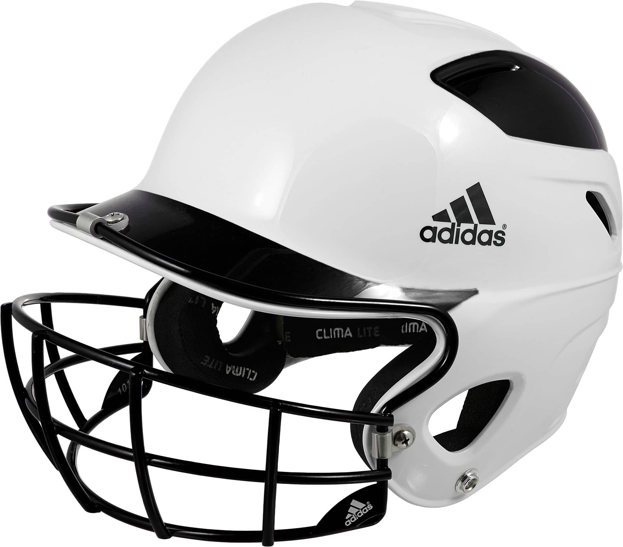 Adidas Trilogy Fastpitch Softball Helmet (black, red, or blue) $20 + Free Shipping