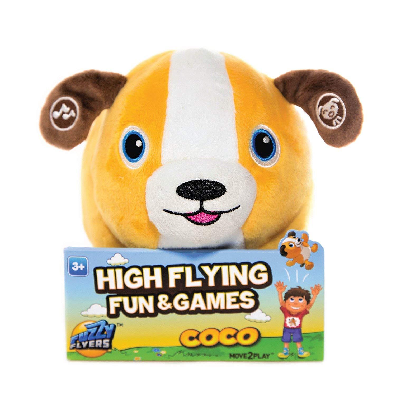 Kids' Move2Play Talkin' Animals: Coco the Interactive Plush Dog $10 + Free Shipping w/ Prime
