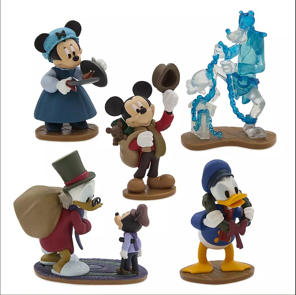 5-Pc Mickey's Christmas Carol Figure Set $6, 21-Pc Disney Junior Mega Figurine Set $16 & More + Free Shipping w/ Email Signup
