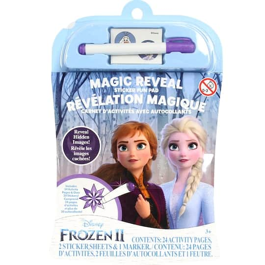 Disney's Frozen 2: Fun On The Go Activity Kit $1.60, Magic Reveal Sticker Fun Pad $2 & More + Free Store Pickup at Michael's