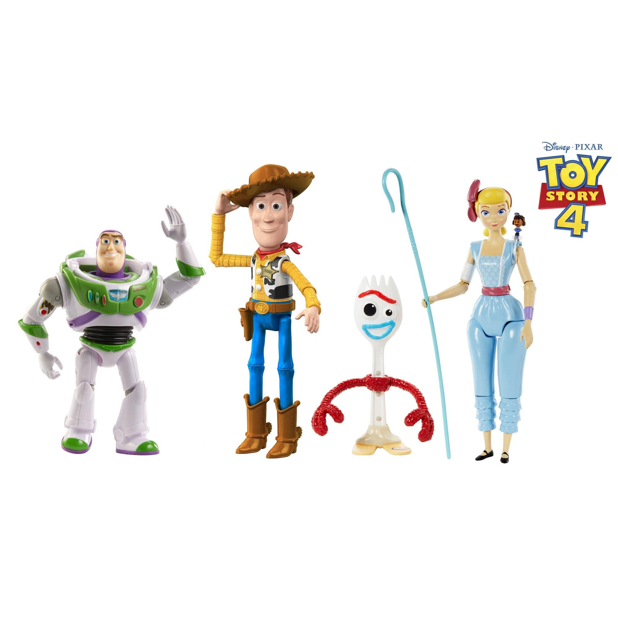 "4-Pc Disney Pixar Toy Story 9.3"" Figure Adventure Pack $15 + Free Shipping w/ Prime"