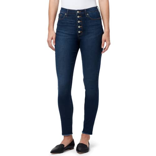 Kohl's Cardholders: Women's Chaps Button-Fly High Rise Skinny Jeans $16.65 & More + Free Shipping