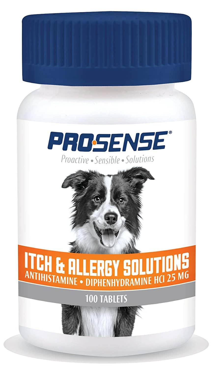 100-Ct Pro-Sense Itch & Allergy Solution Tablets for Dogs $1.55 w/ S&S + Free Shipping