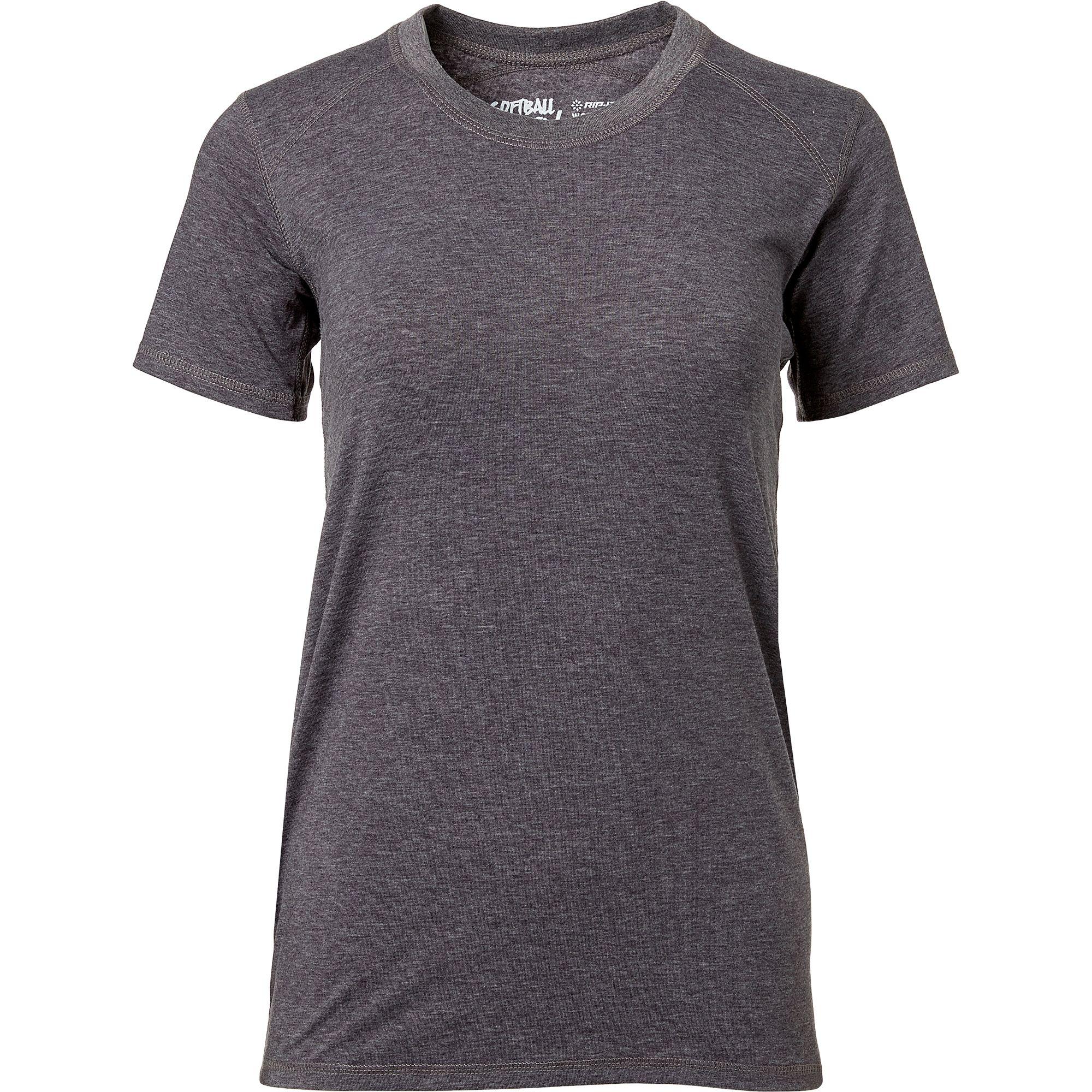 RIP-IT Women's Softball Team T-Shirt $8 or Mizuno Softball Women's V-Neck T-shirt (grey or white) $10 + Free Shipping