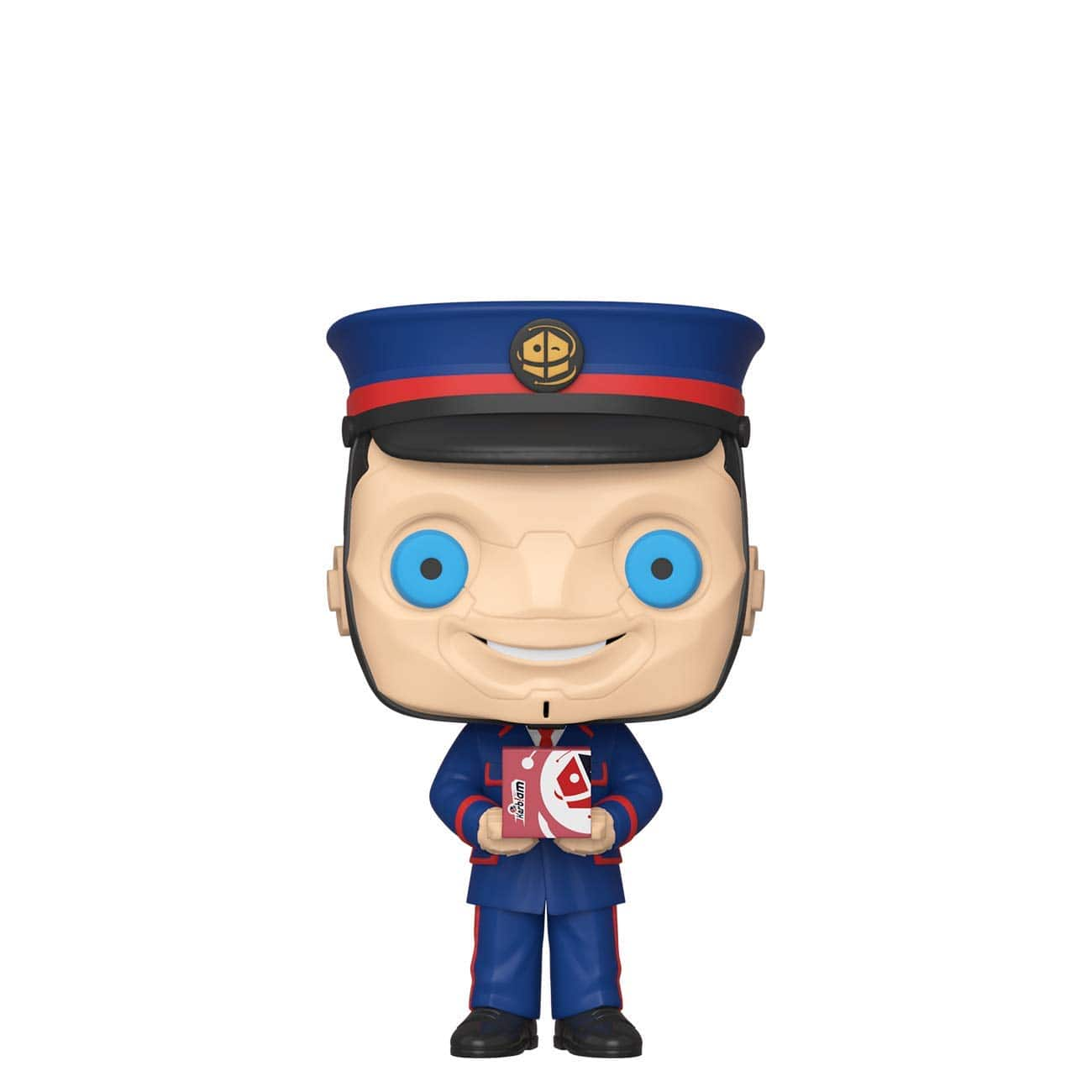 Funko POP! TV: Doctor Who - The Kerblam Man $4 + Free Shipping w/ Prime or on orders $25+