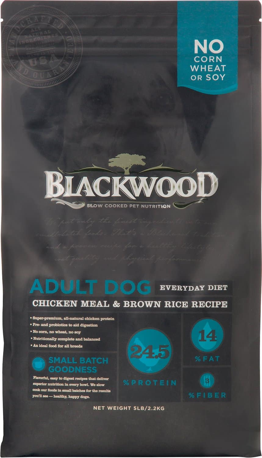 New Chewy Autoship Customers: 60-Lbs Blackwood Chicken Meal & Rice Recipe Everyday Diet Adult Dry Dog Food $38.20 ($0.64 per Lb) & More + Free Shipping