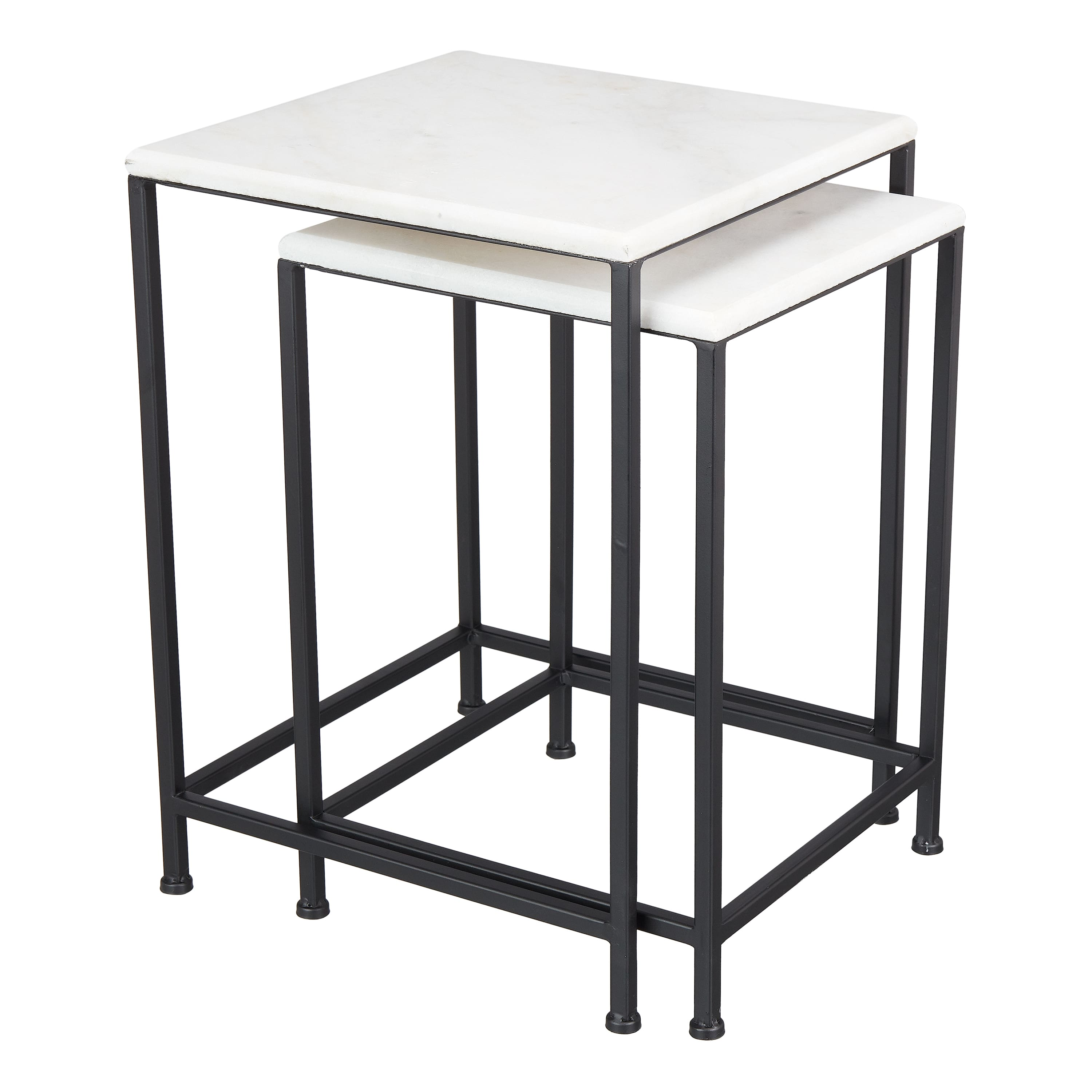 2-Pc Mainstays McKinley Heights Patio Nesting Table Set (white marble finish) $30 + Free Shipping $35+