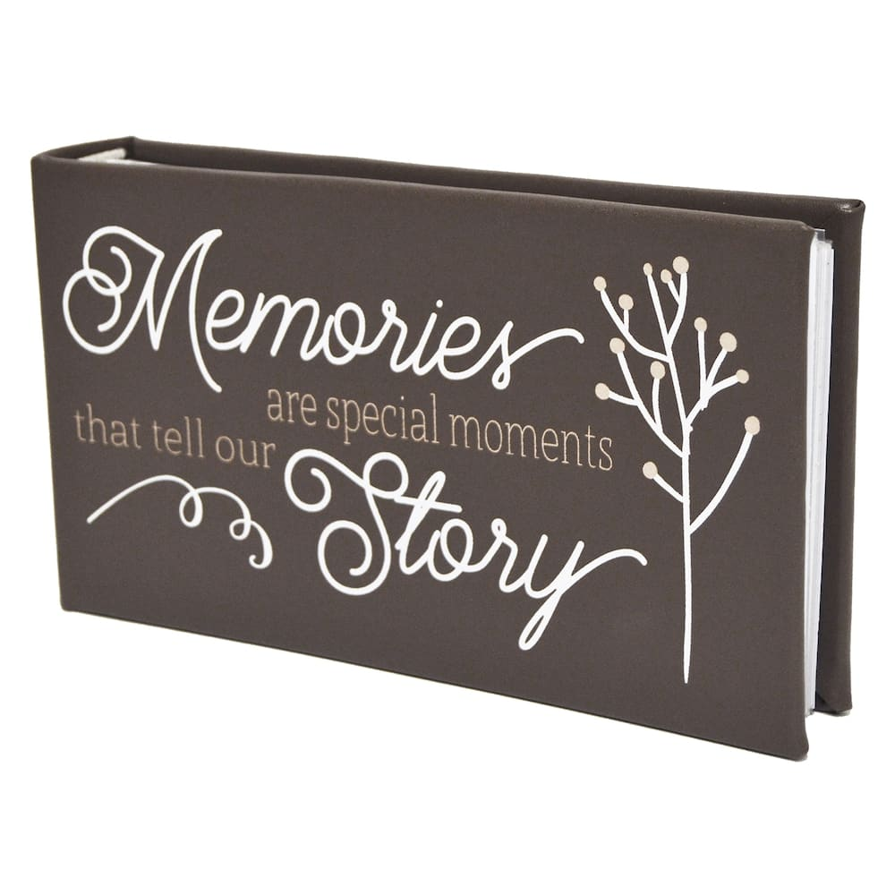 "Kohl's Cardholders: 40-Page New View ""Memories"" Faux-Leather Photo Album (holds 80 4"" x 6"" photos) $5.60 & More + Free Shipping"