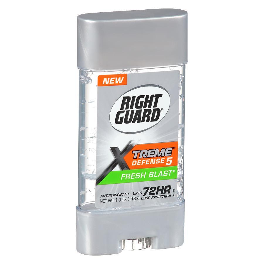 4-Oz Right Guard Xtreme Defense 5 Men's Antiperspirant & Deodorant Gel (Fresh Blast) 2 for $4 ($2 each) & More + Free Shipping