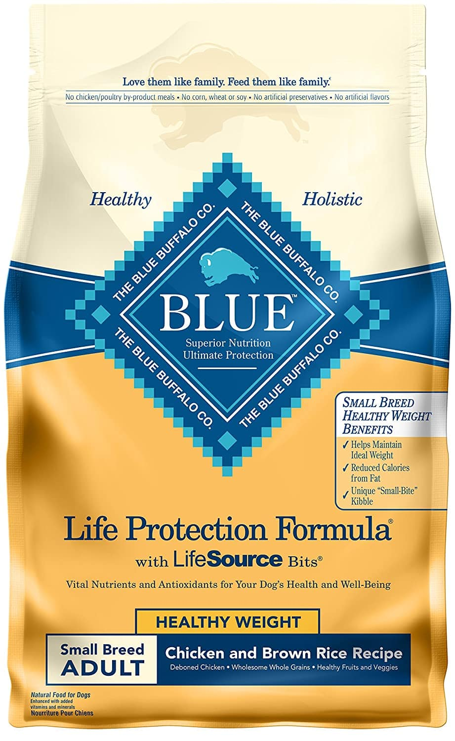6-Lbs Blue Buffalo Life Protection Formula Healthy Weight Small Breed Dog Food $10.45 w/ S&S + Free Shipping