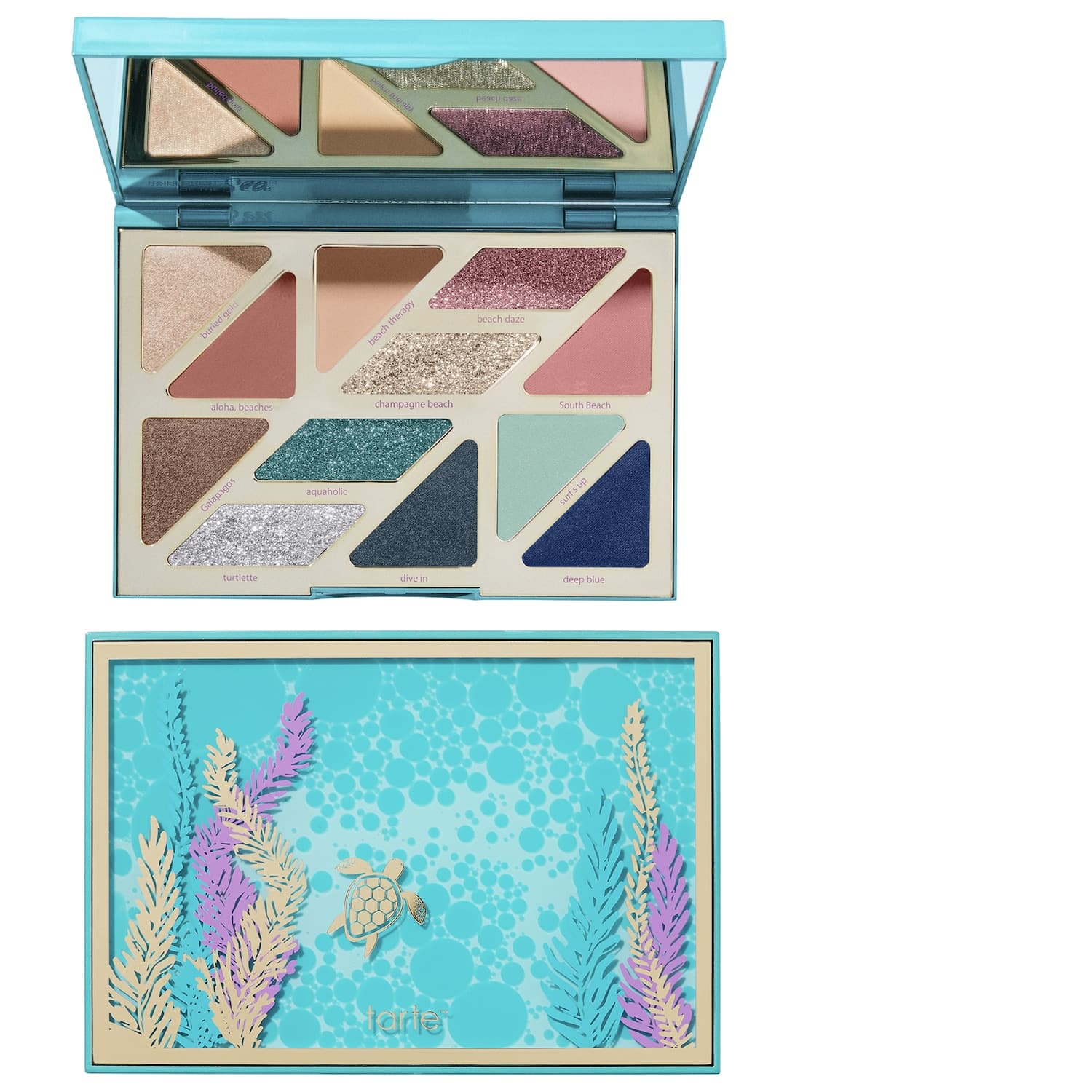 Tarte SEA High Tides & Good Vibes Eye Shadow Palette $19.50, Tarte Cosmic Maracuja Concentrated Face Balm $21 & More + Free Shipping