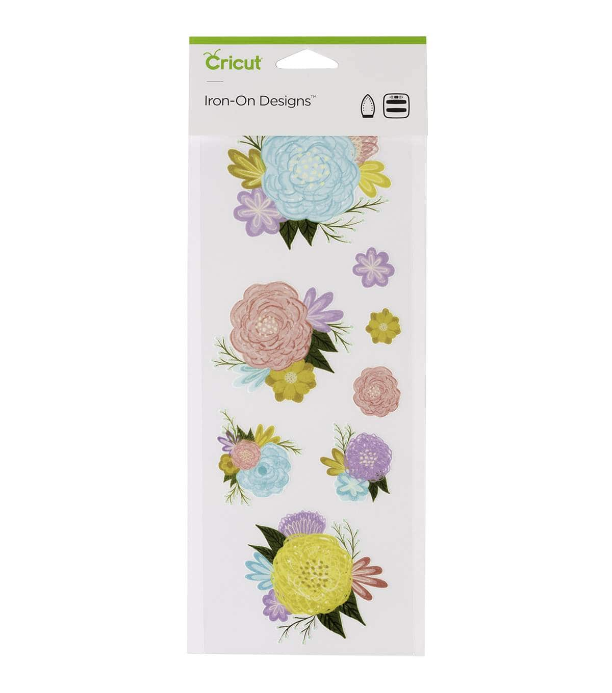 Cricut Small Flowers Iron On Design $2, Cricut Infusible Ink Baby Bodysuit (White) $2.80 & More + Free Shipping