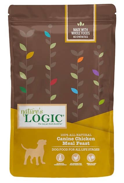 15.4-Lbs Nature's Logic All Life Stages Dry Dog Food + 7-Ct DentaLife Daily Oral Care Large Dental Dog Treats $25.20 or less w/ Autoship + Free Shipping & More