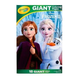 Crayola Disney's Frozen 2 Giant Coloring Book $2.50 + Free Store Pickup at Target