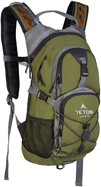 TETON Sports Oasis 1100 Hydration Pack: 18L Gear Capacity w/ 2L Hydration Bladder (Green) $23 + Free Shipping w/ Amazon Prime
