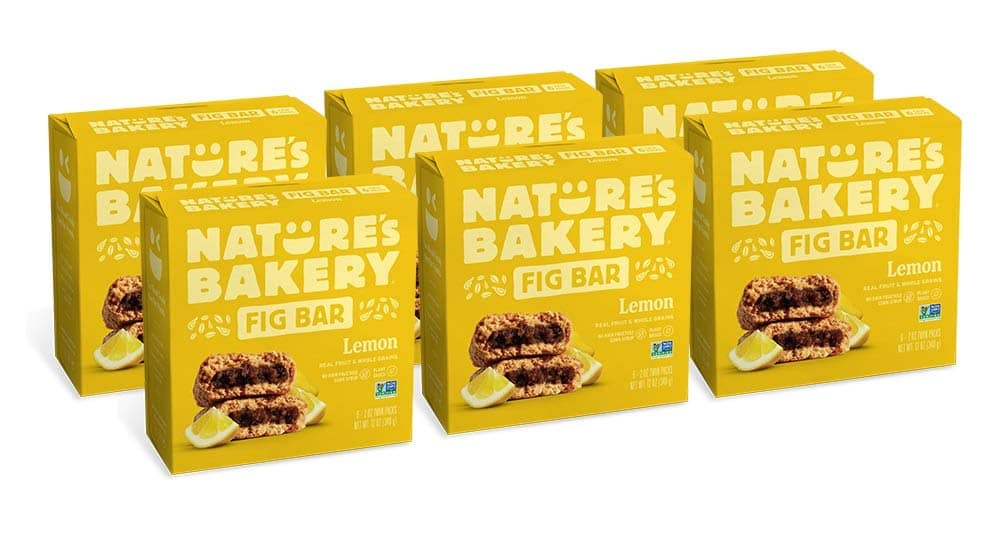 36-Ct Nature's Bakery Whole Wheat Fig Bars (Lemon) $11.85 w/ S&S + Free Shipping w/ Amazon Prime