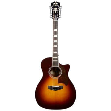 D'Angelico Premier Fulton 12-String Acoustic-Electric Guitar (Sunburst) $270 + Free Shipping