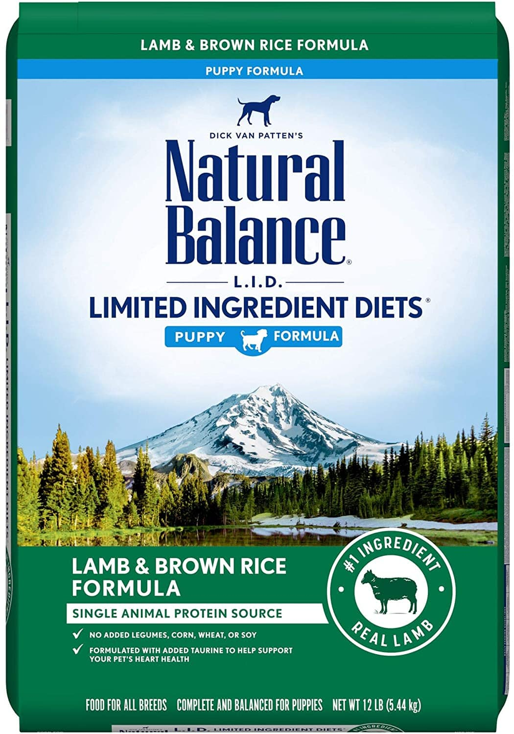12-Lbs Natural Balance Limited Ingredient Diet Puppy Recipe Dry Dog Food $15.35 w/ S&S ($10.85 w/ First S&S Order) + Free Shipping w/ Prime