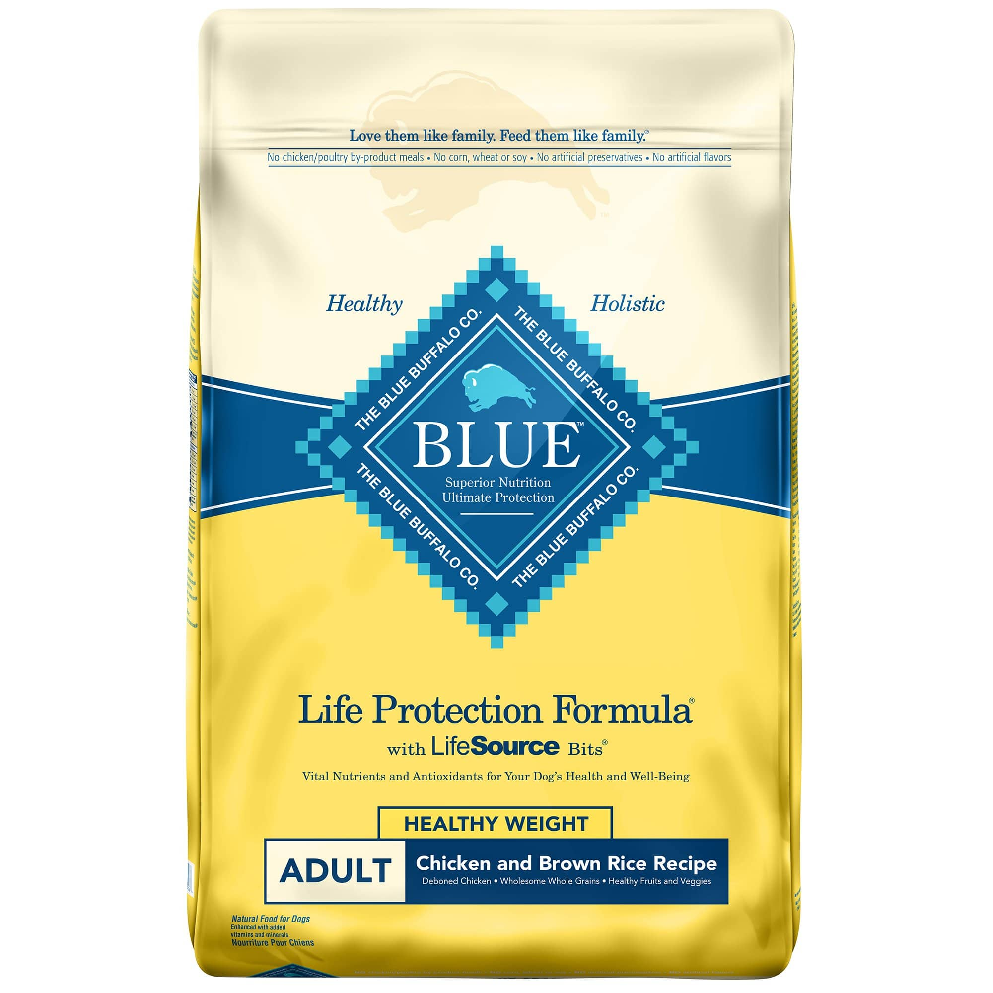 New Petco Repeat Delivery Customers: 60-Lbs Blue Buffalo Life Protection Formula Healthy Weight Adult Dry Dog Food $41.55 w/ Repeat Delivery + Free Shipping
